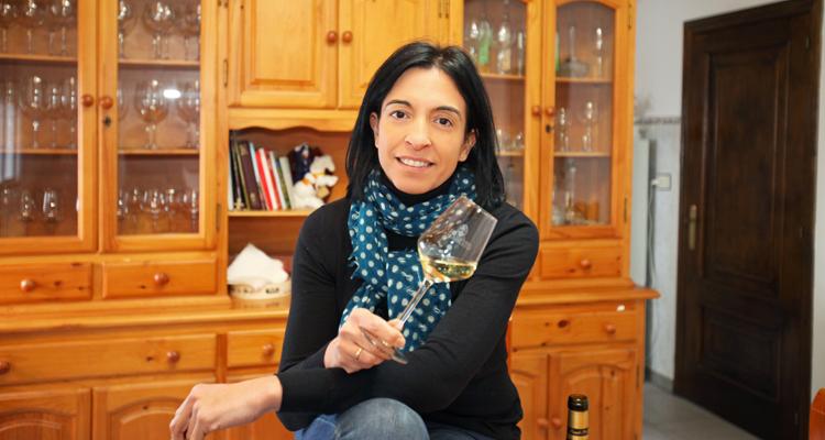 Sandra Cortés, enóloga