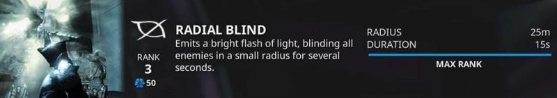 excalibur radial blind
