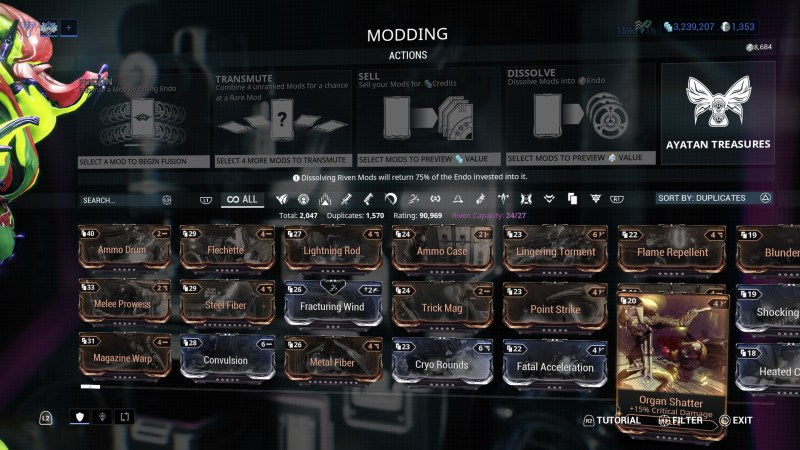 Warframe Mid Game Mods | damnxgood com