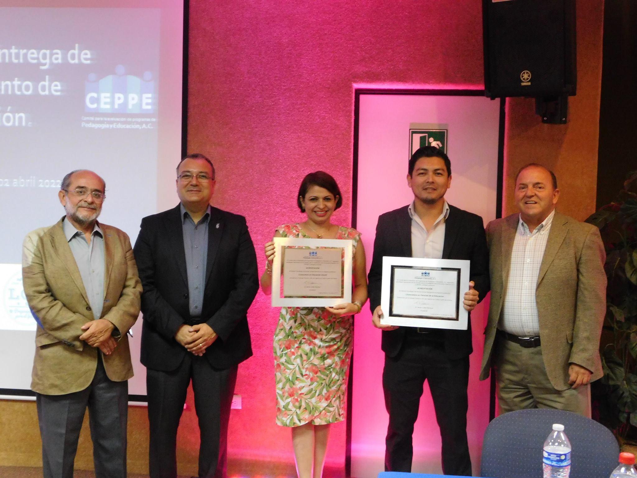 Entrega de acreditaciones en ITSON campus Navojoa
