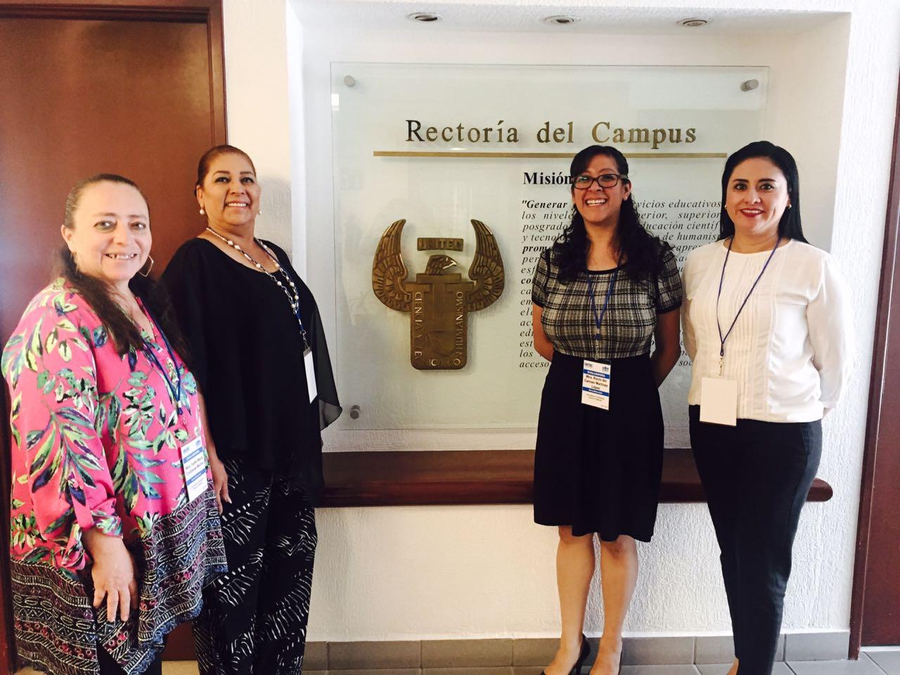 Visita de evaluación al programa de Lic. en Pedagogía de la UNITEC