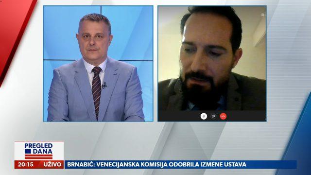Pregled dana: Profesor Marinković o mogućim promenama Ustava