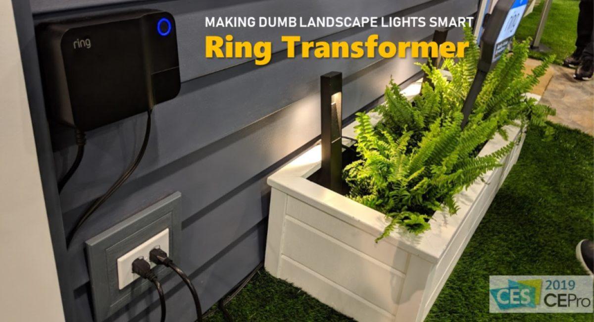 dumb old low voltage landscape lights