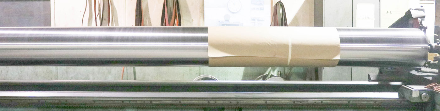 Ceramco has the equipment to recondition rollers up to 200 inches long and 20 inches in diamater.