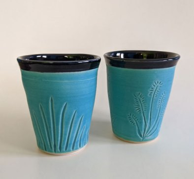 Turquoise-black-small-cups