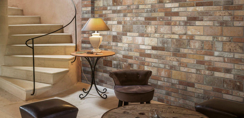 brick effect porcelain stoneware london