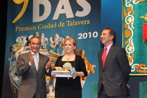 """San Ginés agradece la concesión del Premio """"Ciudad de Talavera"""""""