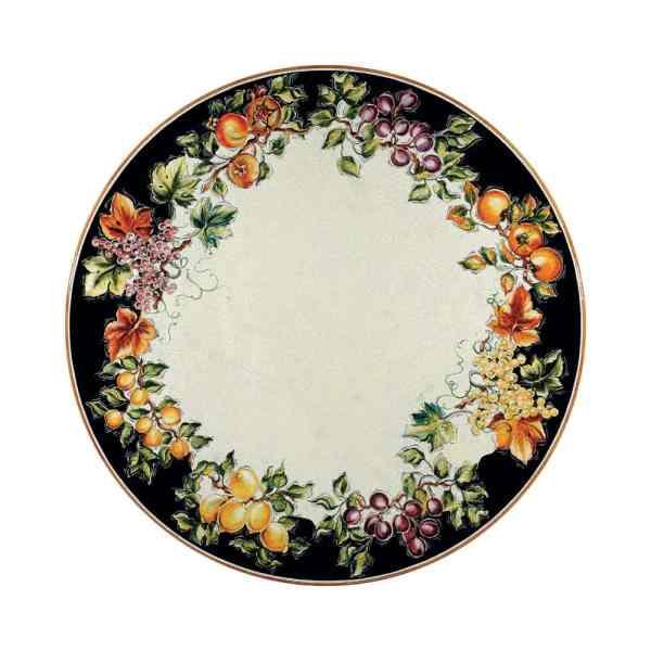 Tavolo pietra dipinto a mano