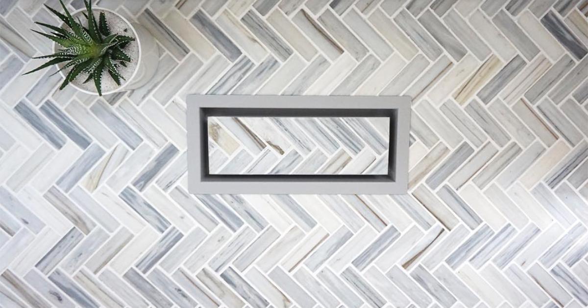 surface matching vents ceramic decor