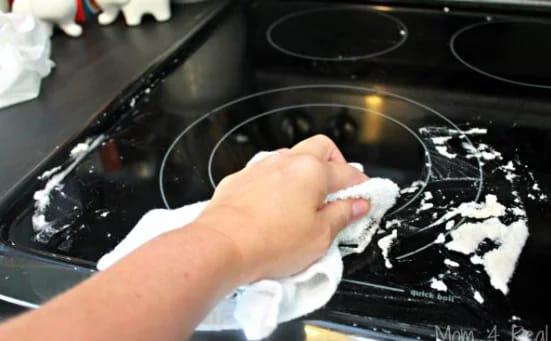 Clean glass ceramic