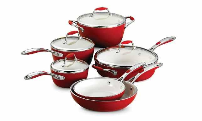 Tramontina 80110_202DS gourmet ceramic deluxe cookware set