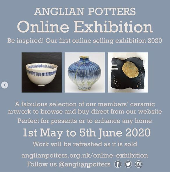 Anglian Potters online exhibition