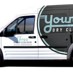 Cerberus - Young's Dry Cleaning - Truck Wrap - Collateral