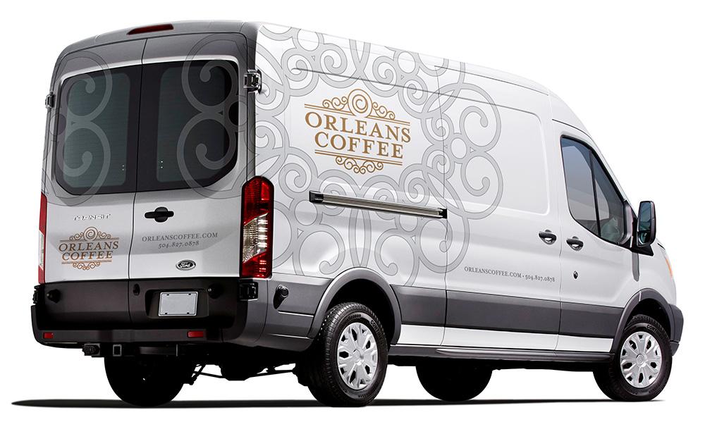 Orleans Coffee Vehicle Design