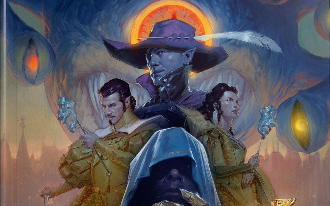 La splendida copertina di Dragon Heist