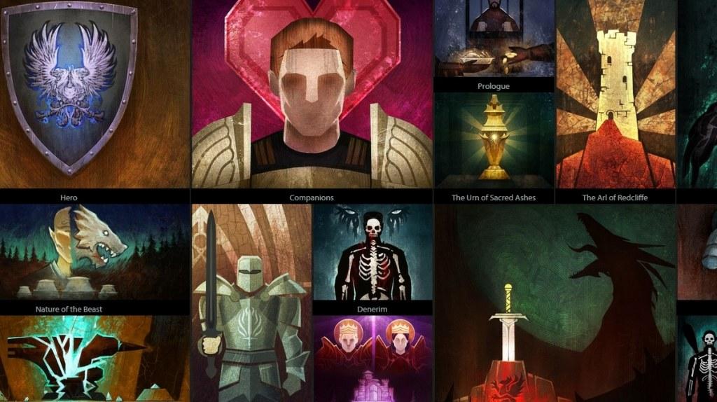 Le complesse scelte di trama di Dragon Age: Origins presentate nell'arazzo di Dragon Age Keep