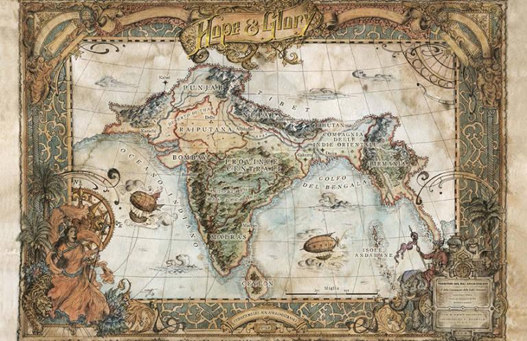 La mappa del gioco