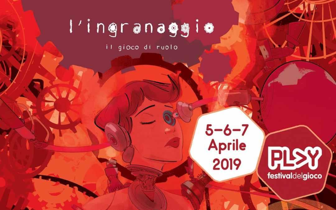 """Locandina di presentazione de """"L'Ingranaggio"""""""