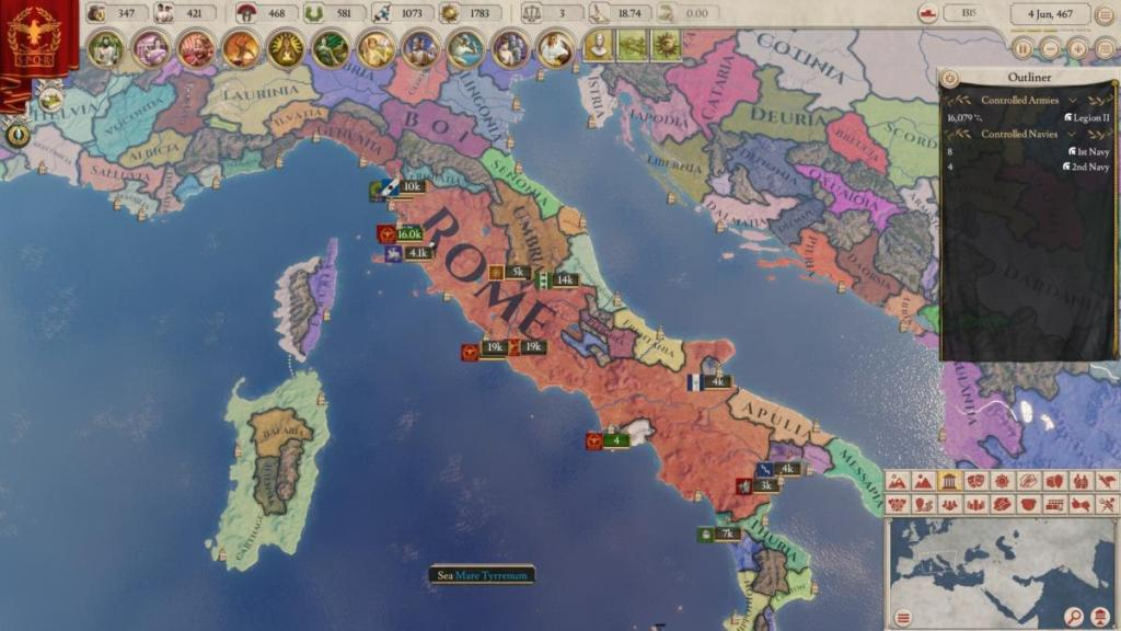 Roma in Imperator: Rome (e i maledetti Sardi!)