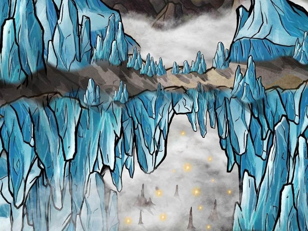 Ponte di ghiaccio di Bryan Marshall