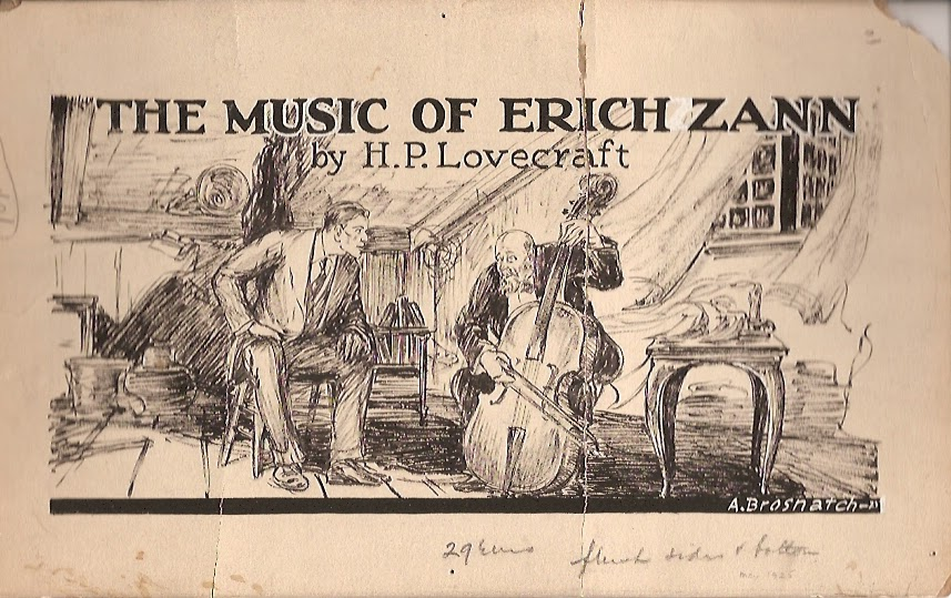 La musica di Erich Zann di Andrew Brosnac