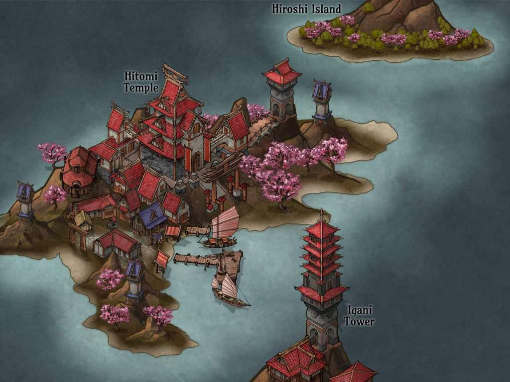 Un'altra isoletta disegnata da Mati