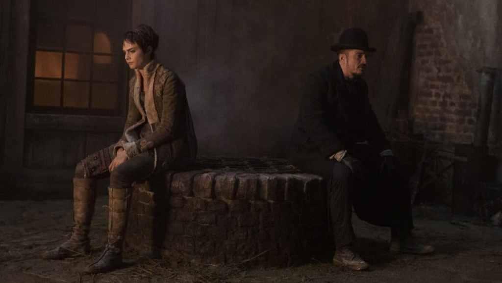 I due personaggi titubanti della loro interpretazione nella serie