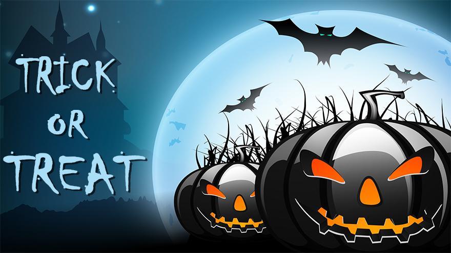 Trick or treat Halloween