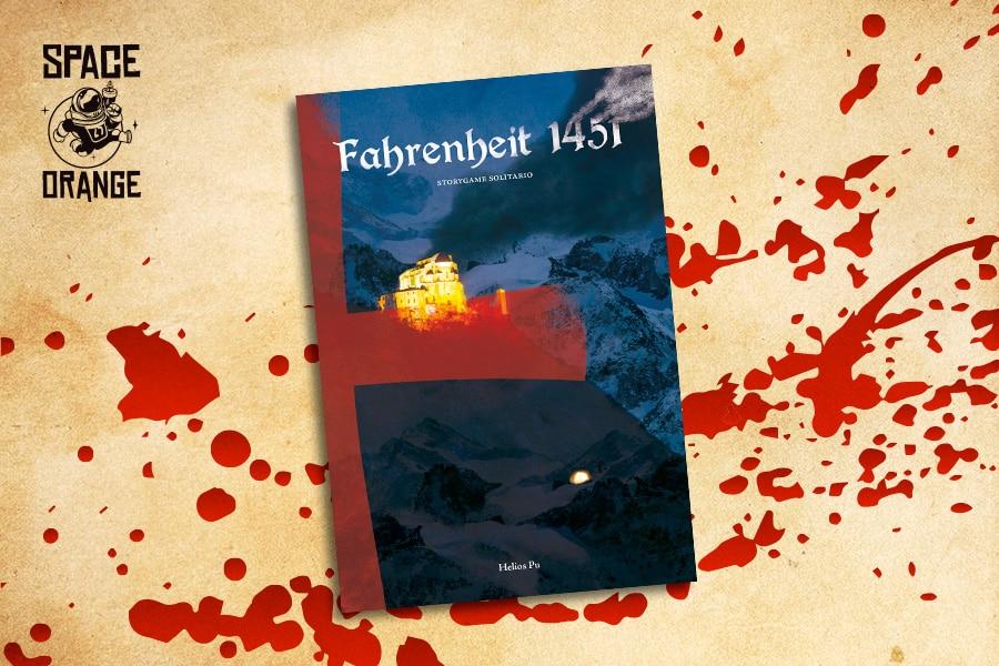 La Copertina di Fahrenheit 1451