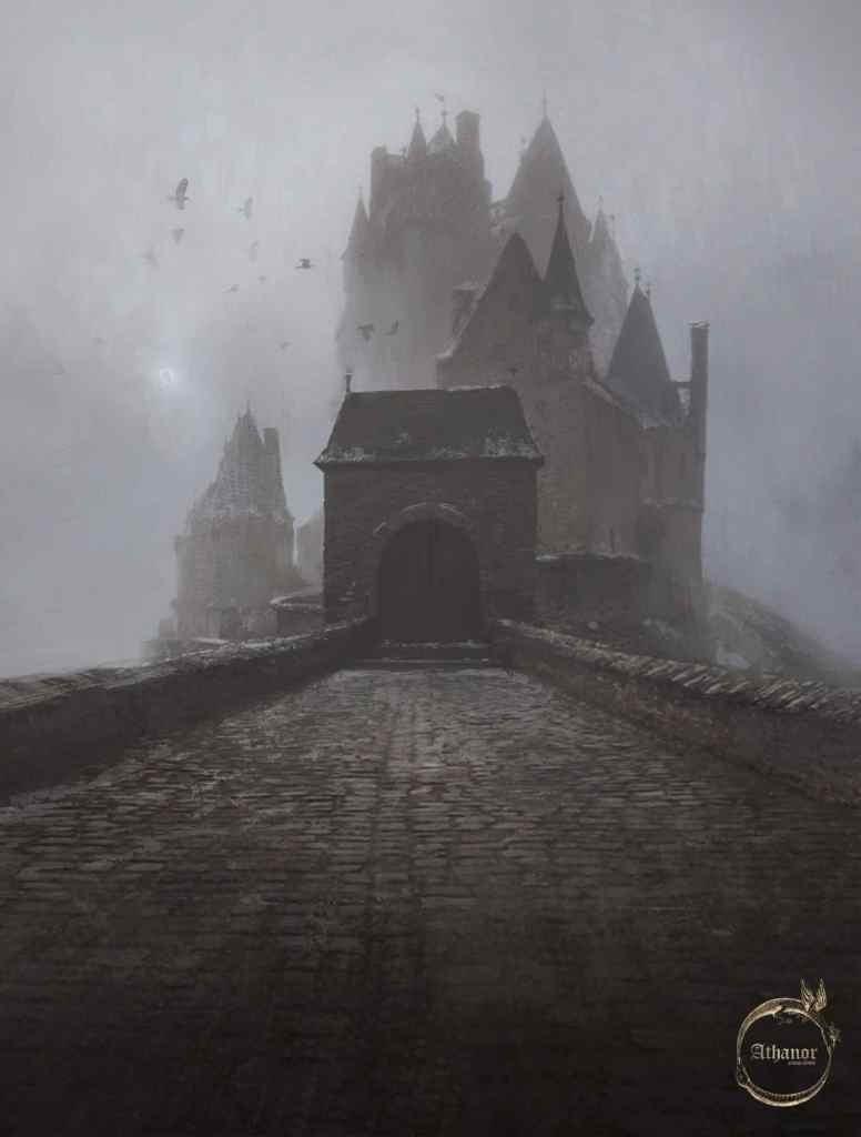 Una porta alchemica di Athanor