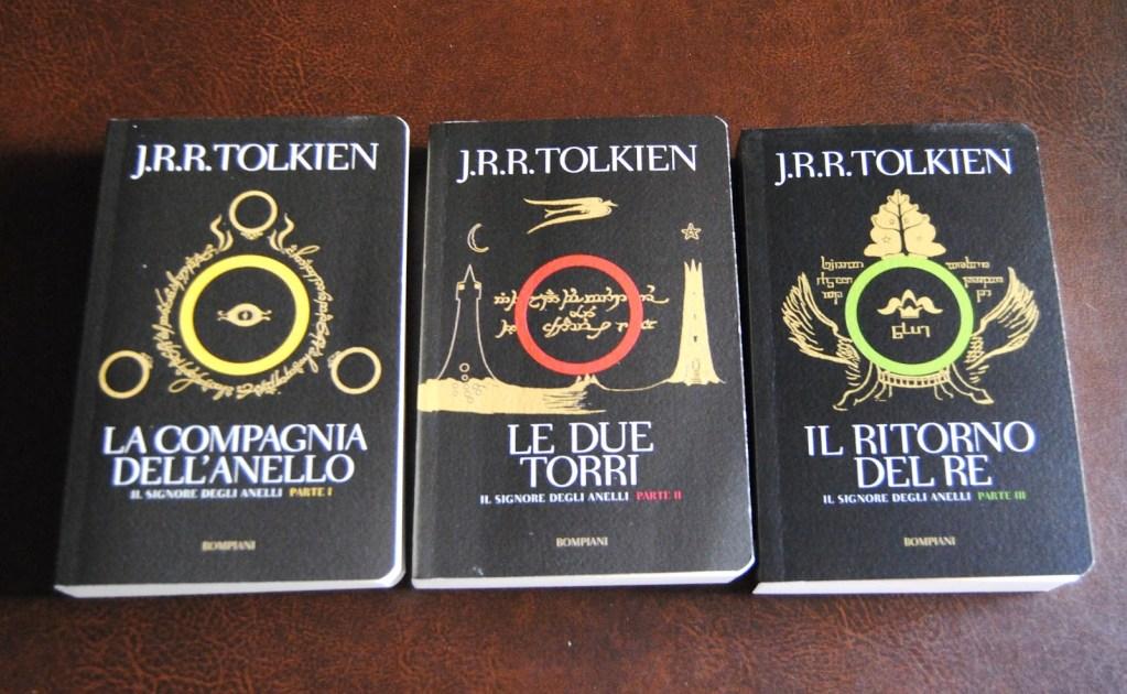 Alcune delle edizioni de Il signore degli anelli che potrebbero non essere più in commercio