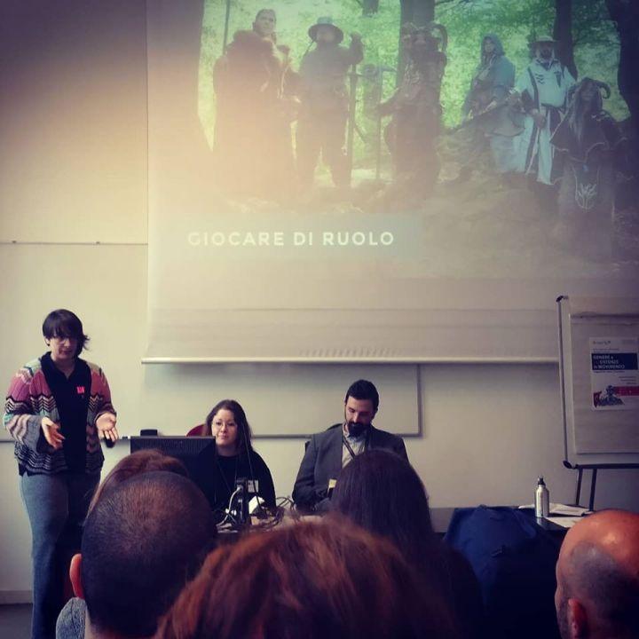 Foto dalla presentazione della ricerca di DD&D all'Università di Trento