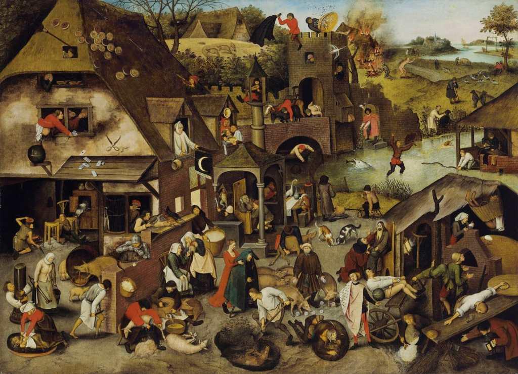 Immagine di popolazione medivale