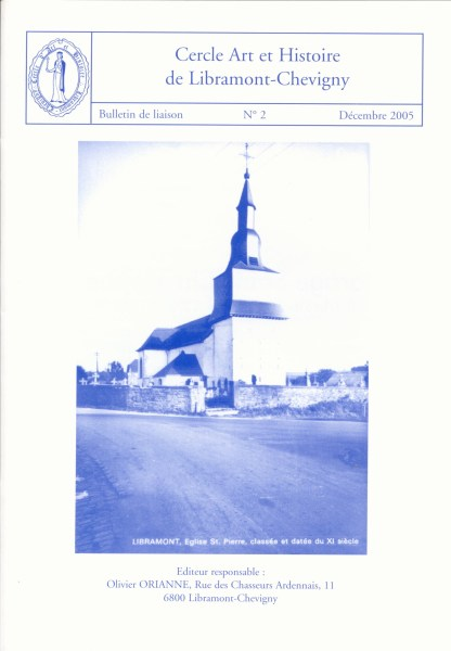 Bulletin de liaison n°2 – Décembre 2005