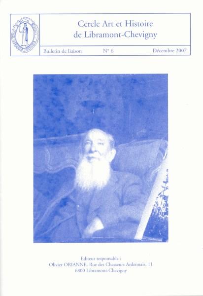 Bulletin de liaison n°6 – Décembre 2007