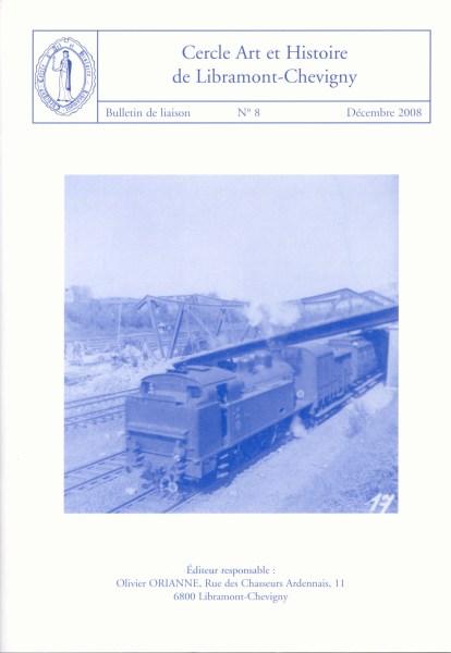 Bulletin de liaison n°8 - décembre 2008