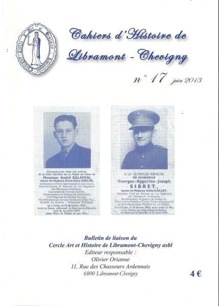 Cahier d'histoire de Libramont n°13 -Juin 2013
