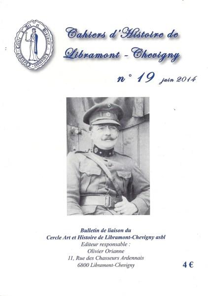 Cahier d'histoire de Libramont n°19 -Juin 2014