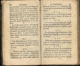Coutumes Générales des Pays Duché de Luxembourg pages 28 - 29