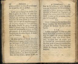 Coutumes Générales des Pays Duché de Luxembourg pages 52 - 53