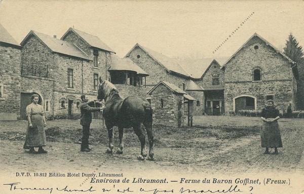 Freux - Ferme du Château du baron Goffinet - Collection Christian Giboux