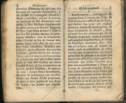 Ordonnance et Edit perpétuel des Archiducs pages 4 - 5