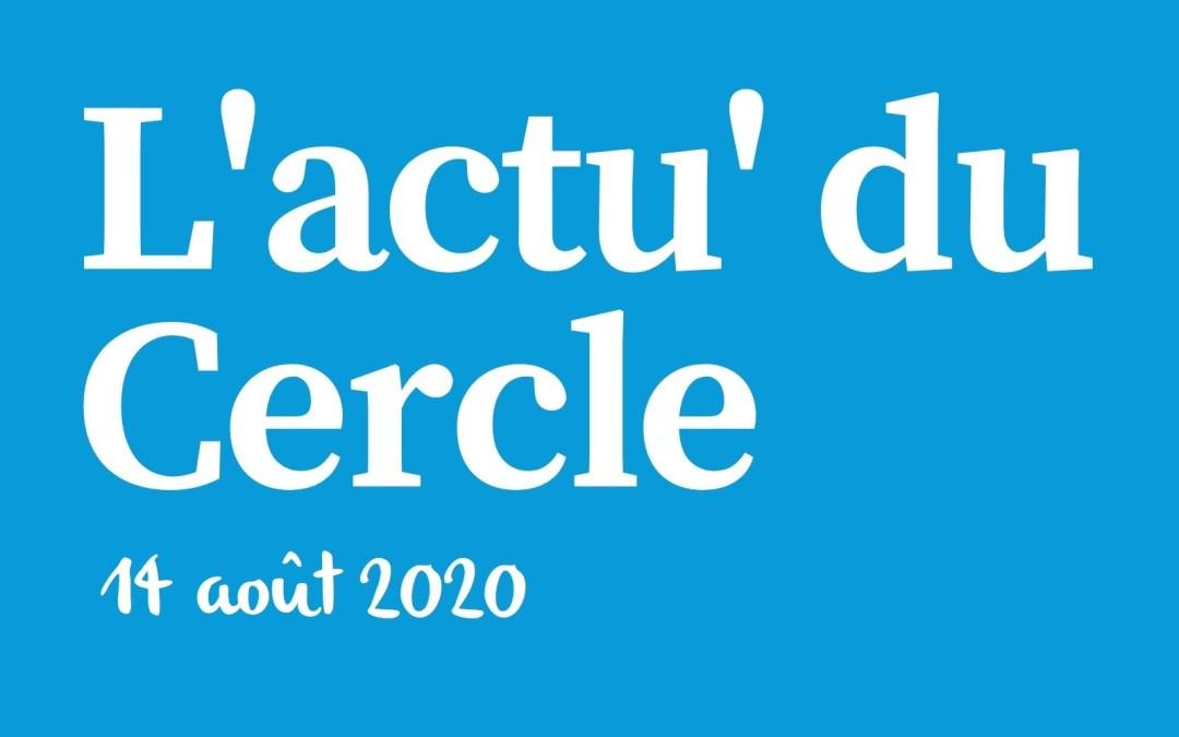 La lettre d'actu du Cercle Laïque Dijonnais du 14 août 2020