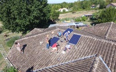 Chantier participatif : Poser panneaux photovoltaïques – Appel aux bénévoles