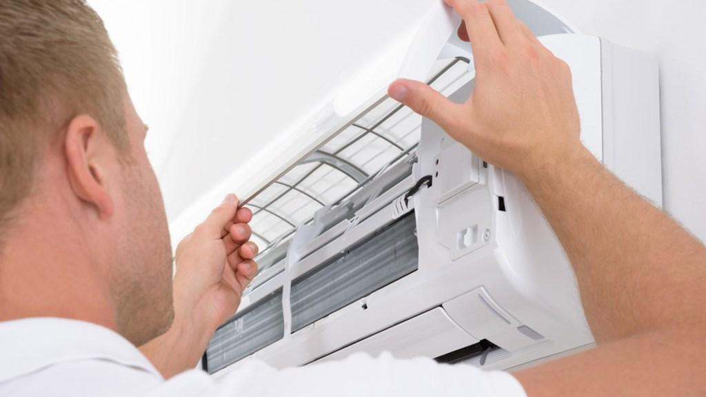 pulizia filtri condizionatore d'aria