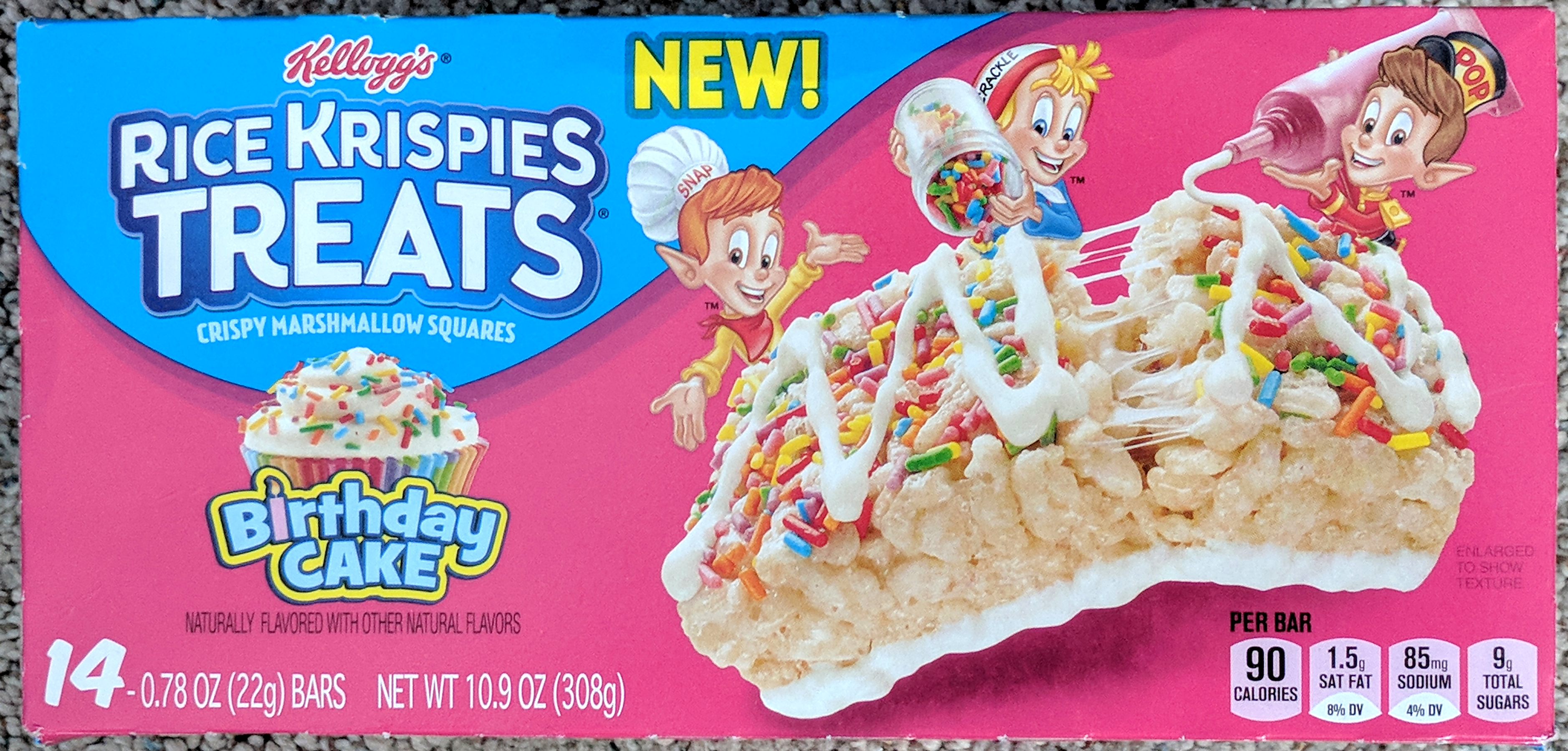 Review Birthday Cake Rice Krispies Treats