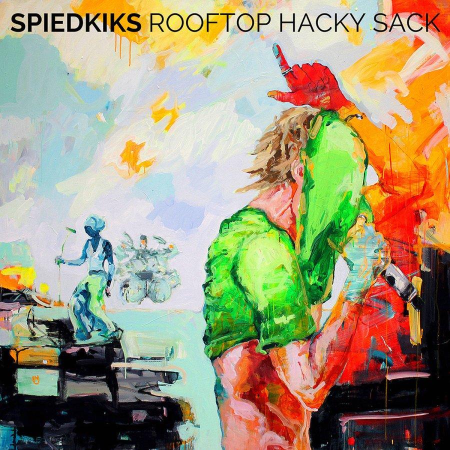 Spiedkiks: Rooftop Hacky Sack