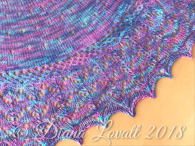 Kindness Shawl 2 Lace