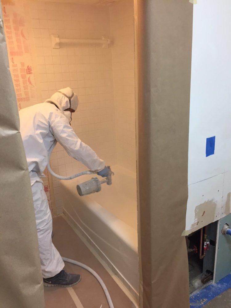 Tub Regazing CE Bathtub Refinishing Service Miami Florida