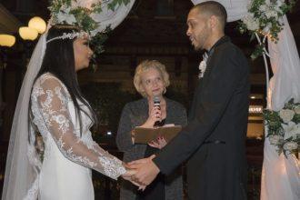 Sams Town Wedding Ceremony